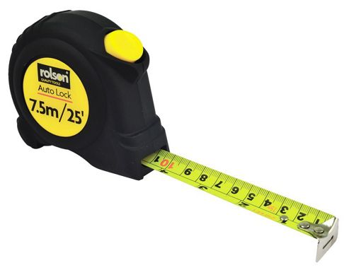 Rolson 7.5m Tape Measure