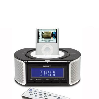 buy roberts radios idream crd42 dabfm with integrated ipod dock from rh tesco com