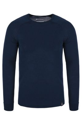 Mountain Warehouse Merino Mens Long Sleeved Round Neck Top ( Size: M )