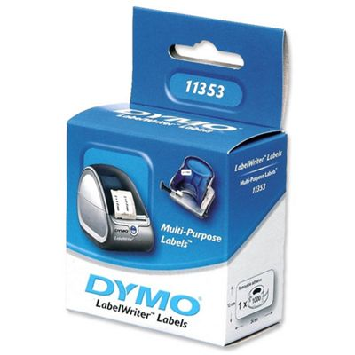 Dymo Multi-Purpose Removable Labels on a Roll (1000 Labels) for Dymo LabelWriter