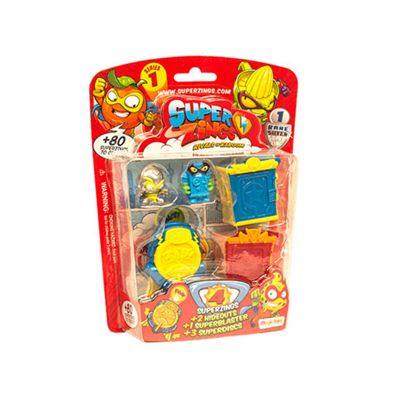 SuperZings Series 1 -Blister 4 Pack