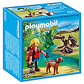Playmobil 5562 Wildife Adventure Tree House Beavers with Backpacker