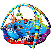 Bebe Style Ocean World Baby Playmat & Gym with cushion - Blue