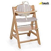 Hauck Beta Natural Wooden Highchair
