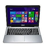 """Asus X555LA 15.6"""" i3 4GB RAM 1TB HDD Black & Silver Laptop"""