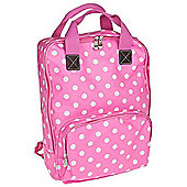 Lesser & Pavey Dotty Pink Backpack