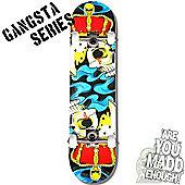 """MGP Gangsta Series Complete Skateboard - Crowned 7.75"""""""
