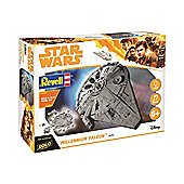 Revell Gmbh 06767 Star Wars Han Solo Millennium Falcon Build And Play Model Kit
