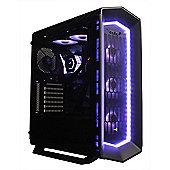 Cube Viper Elite Upgradable Full RGB Gaming PC i7K Six Core Overclocked 16GB RAM 500GB M.2 SSD 4TB HDD Add your GPU Windows 10