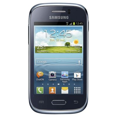 Samsung Galaxy Young Blue