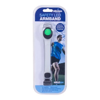 Milestone Sports Safety LED Armband