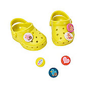 Baby Born Customisable Pin Shoes - Yellow