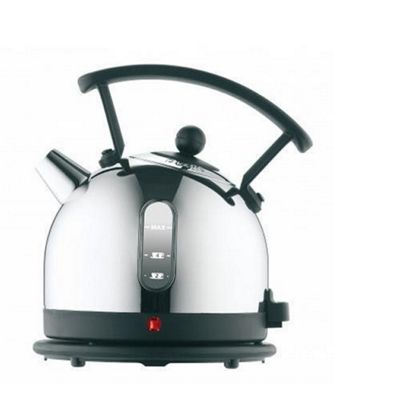 Dualit 72700 1.7 Litre Dome Kettle - Chrome with Black Trim