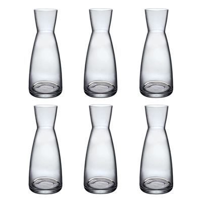 Bormioli Rocco Ypsilon Water Jug Carafe Decanter 550ml - Pack of 6