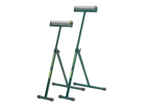 Record Power RPR400 Roller Stands (Twin Pack)