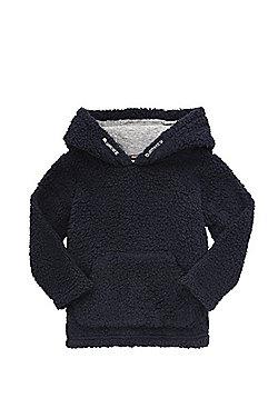 F&F Fleece Hoodie - Navy