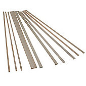Balsa Wood - Rectangle Strips 445mm long