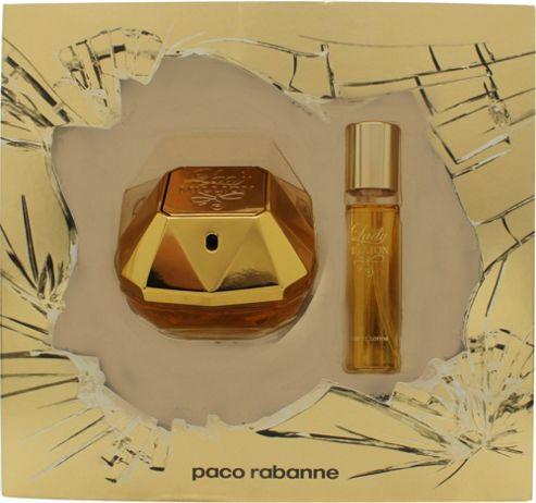 Paco Rabanne Lady Million Gift Set 50ml EDP + 15ml EDP For Women