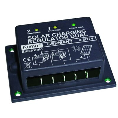 Dual 16A Solar Charge Regulator