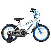 Terrain Racer 16 inch Wheel White Kids Bike