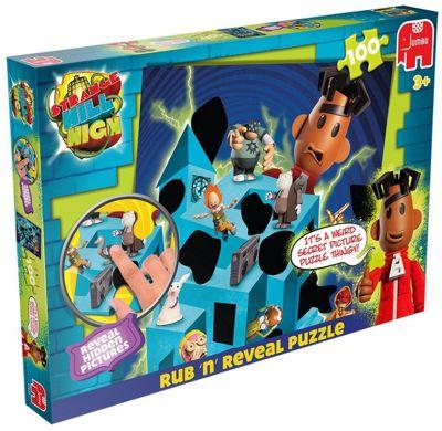 Strangehill High Rub and Reveal Jigsaw 100 Pcs Puzzle - Games/Puzzles