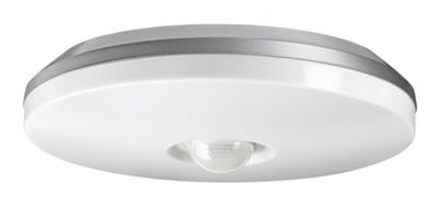 Steinel DL850 Impact Resistant Ceiling PIR Porch Light in Silver