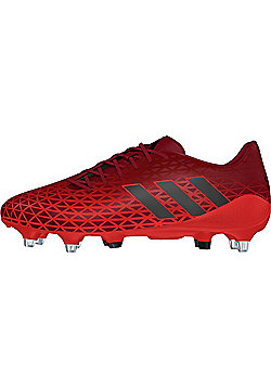 adidas Crazyquick Malice SG Rugby Boots - Red - Red