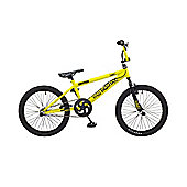 "Rooster Big Daddy 20"" Wheel Freestyler BMX Yellow"