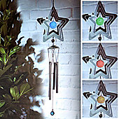 Solar Powered Colour Changing LED Wind Chimes
