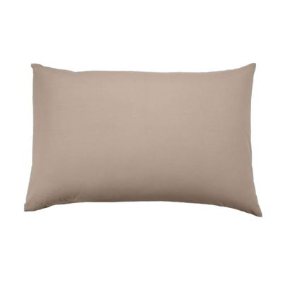 Homescapes Moonlight Beige Egyptian Cotton Housewife Pillowcase 1000 TC