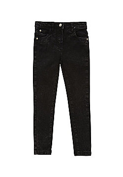Minoti Faded Skinny Jeans - Black