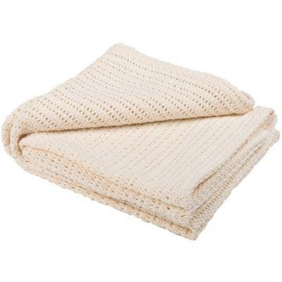 Abeille Cellular Baby Blanket (Cream)