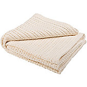 Abeille Cellular Baby Blanket (Cream)