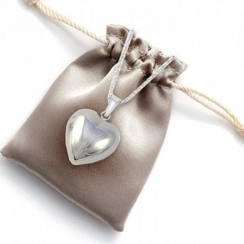 Mayan Musical Chiming Heart Necklace