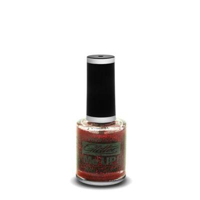 PaintGlow Glitter Nail Polish Red 10ml