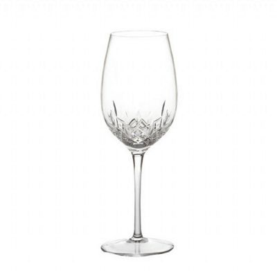 Waterford Lismore Essence Giftware Red Wine Goblet Pair