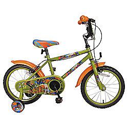 "Urban Rider Boys 16"" Bike Green"