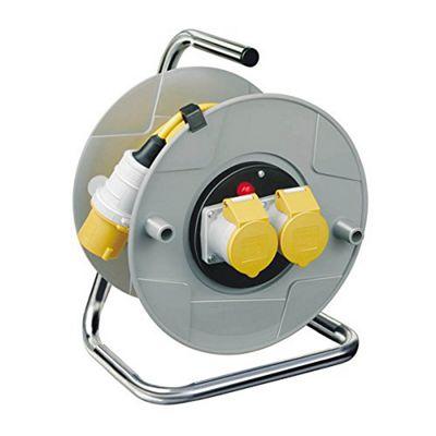 Hardman AT42035 25 m 16 A 110 V Cable Reel Socket (Pack of 2)