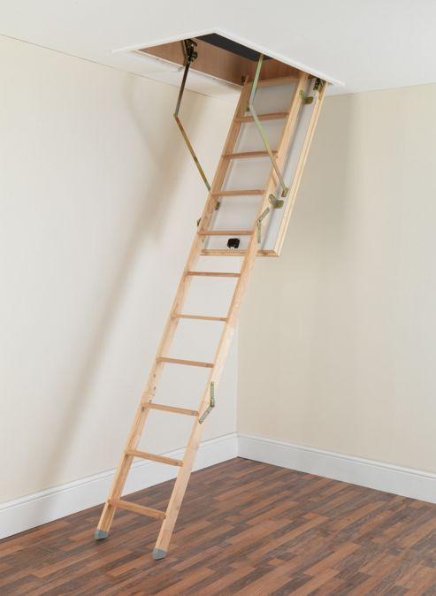 TB Davies LuxFold Timber Folding Loft Ladder