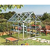 Palram Greenhouse Snap & Grow 6x8- Silver - Polycarbonate and Aluminium Frame