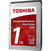 "Toshiba L200 1 TB 2.5"" Internal Hard Drive"