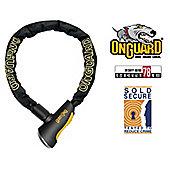 Onguard Mastiff 8021 Bike Chain Key Lock 180cm x 10mm