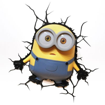 Minions Bob 3D Deco LED Wall Light