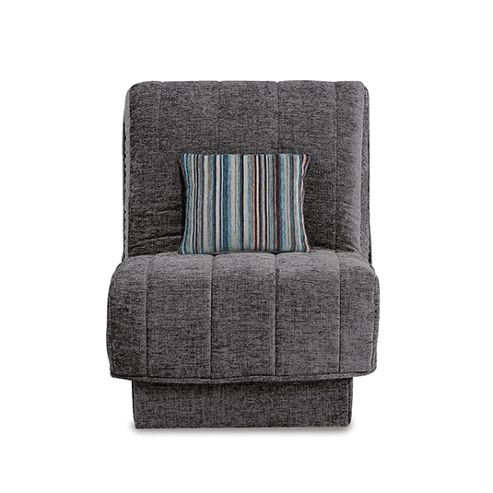 Leon Chairbed Charcoal