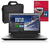 "Lenovo B51-35 80LH001KUK 15.6"" Laptop With MCAFEE LiveSafe & Case"