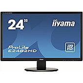 """iiyama ProLite E2482HD-B1 61 cm (24"""") LED Monitor - 16:9 - 5 ms"""