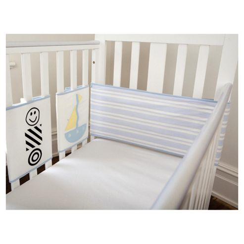 By Carla Lazy Days Cot top wrap bumper