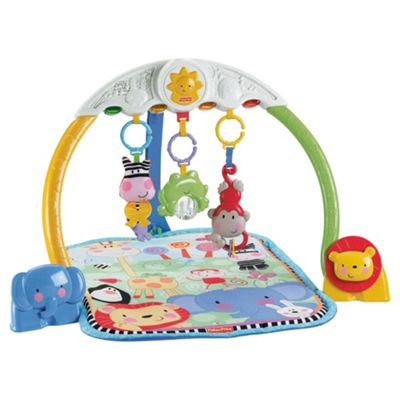 Fisher-Price Tracking Lights Musical Play Gym
