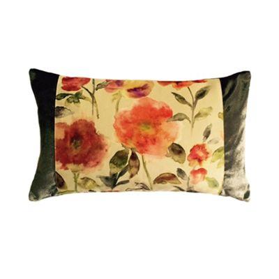 McAlister Floral Velvet Cushion Cover - Soft Touch 50x30cm