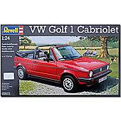 Revell Vw Golf 1 Cabriolet Car Model Kit - 07071